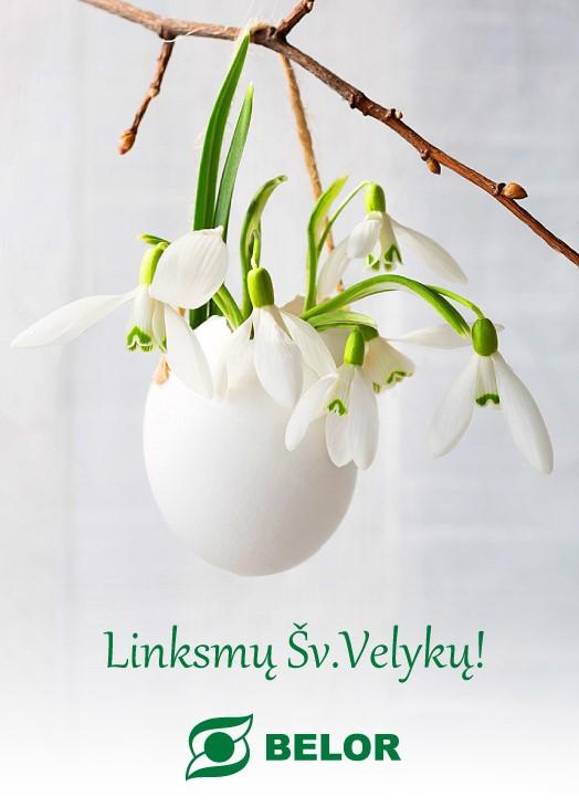 Linksmų Šv. Velykų! 2016